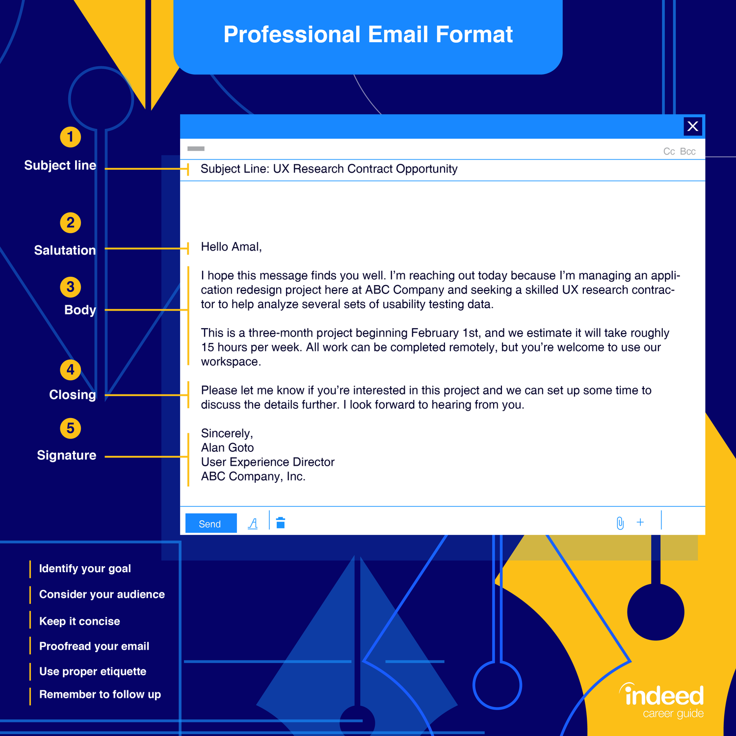 How To Write a Professional Email   Indeed.com